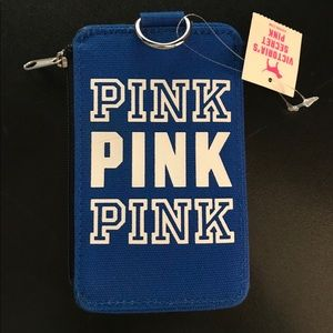 Brand New Pink Id Case
